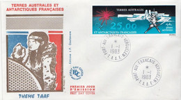 French Antarctic ( TAAF ) Stamp On FDC - FDC