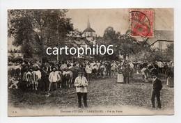 - CPA LARRINGES (74) - Pré De Foire 1913 (belle Animation) - Edition F. B. - - Andere Gemeenten