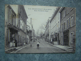 BEAUCOURT - RUE FREDERIC JAPY - Frankreich