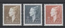 (S0994) DENMARK, 1998 (Definitives. Queen Margrethe II). Complete Set. Mi ## 1176-1178. MNH** - Nuovi