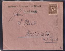 DR., Drucksache Mit EF. Mi.-Nr.  203 A, Infla Geprüft. - Unclassified