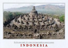 3 AK Indonesien * Die Tempelanlage Borobudur - Erbaut Zwischen 750 Und 850 - Seit 1991 UNESCO Weltkulturerbe * - Indonesia