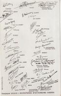 Campagne 1914-15 : Signatures D' Aviateurs Connus . - Militaria