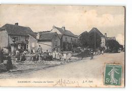 CPA 25 Dambelin Fontaine Du Centre - Andere Gemeenten