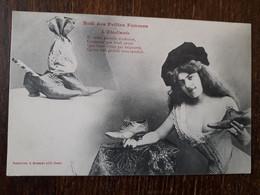 L30/212 Illustrateur BERGERET - Noel Des Petites Femmes - L'étudiante - Bergeret