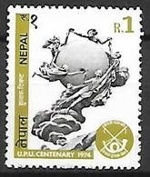 NEPAL   -   1974 .   Y&T N° 276 **  .U.P.U. - Nepal