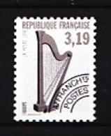 Préo  220A - 3,19F Harpe - Dentelé 12 - Neuf N** - Très Beau. - Precancels