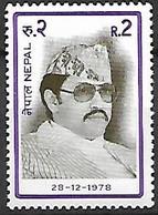 NEPAL   -   1978 .   Le ROI  ** - Nepal