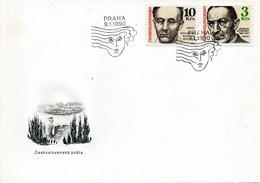 TCHECOSLOVAQUIE. N°2836 De 1990 Sur Enveloppe 1er Jour. Compositeur Martinu. - Music
