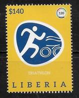 LIBERIA   N°  5784 * *    Jo 2016 Course - Athletics