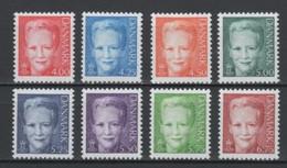 (S1026) DENMARK, 2000 (Definitives. Queen Margrethe II). Complete Set. Mi ## 1240-1247. MNH** - Nuovi
