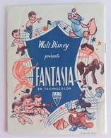 Programme Walt Disney Présente Fantasia En Technicolor - Programmes