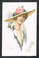 POSTCARDS-TOPICS-ILLUSTRATORS--ARTIST SIGNED-  G..SALMONY  866-1 - Otros Ilustradores