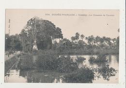 GUINEE FRANCAISE KONAKRY LA CHAUSSEE DE TOUMBO CPA BON ETAT - Guinea Francesa