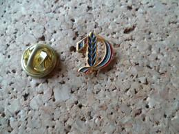 PIN'S   EPI DE BLE  DRAPEAU BLEU BLANC ROUGE - Pin's