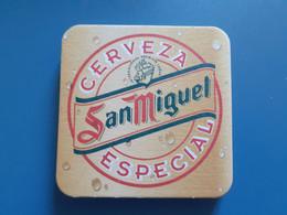 San Miguel Cerveza Especial - Beer Mats