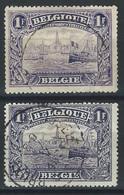 VV-/-1027.- N° 145/45a, Cote 3.00 € , TB - IMAGE DU VERSO SUR DEMANDE - 1915-1920 Albert I