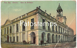 142799 ARGENTINA CORDOBA CASA DE GOBIERNO BREAK POSTAL POSTCARD - Argentina