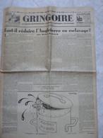 Gringoire Octobre 1935 Grand Hebdomadaire Parisien Politique Litteraire Journaux Anciens H. De Carbuccia - Autres