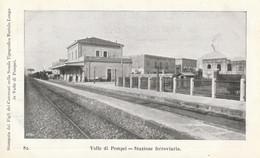 Campania - Napoli - Valle Di Pompei  - Stazione Ferroviaria - - Pompei