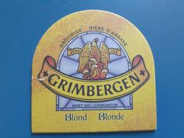 Grimbergen Blonde - Beer Mats