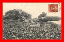 Kerlouan , Rochers De Ménéhom   ( Scan Recto Et Verso ) - Autres Communes