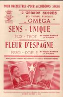 Sens = Unique (fox-trot) & Fleur D'Espagne (paso-doble) - 2 Pièces Pour Violon - Livres, Revues & Catalogues