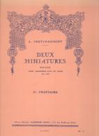 2 Miniatures Faciles Pour Saxophone Alto Et Piano Opus 145 II. Phantasme - Livres, Revues & Catalogues
