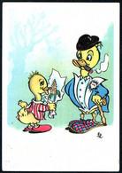 E0788 - TOP Donald Duck - Künstlerkarte - Fumetti