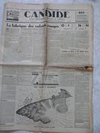CANDIDE Octobre 1936 Candide Grand Hebdomadaire Parisien Et Littéraire Journaux Anciens - Autres