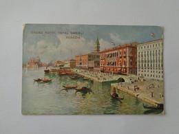 Venezia. - Grand Hotel Royal Danieli. (22 - 4 - 1914) - Venezia (Venice)