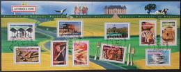 Bloc/Feuillet N° 57  Avec Oblitération Cachet à Date D'Epoque De 2003  TTB - Sheetlets