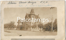 142811 ARGENTINA BUENOS AIRES RAMOS MEJIA STATION TRAIN ESTACION DE TREN BREAK POSTAL POSTCARD - Argentina