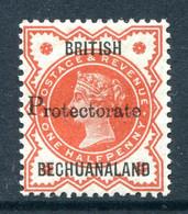 Bechuanaland Protectorate 1888 GB QV Overprints - ½d Vermilion HM (SG 40) - 1885-1964 Herrschaft Von Bechuanaland
