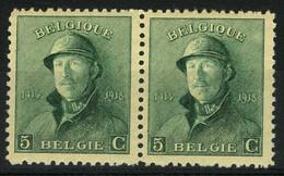 België 167-V2 ** - Litteken Op Kin - Balafre Sur Le Menton - SUP - Errors (Catalogue COB)
