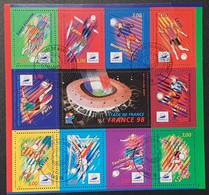 Bloc/Feuillet N° 19  Avec Oblitération Cachet à Date D'Epoque De 1998  TTB - Sheetlets