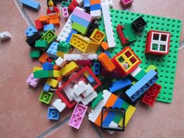 Originale LEGO 200 Grammi Assortiti Così Come Sono Nella Fotografia Alto Valore - Lots