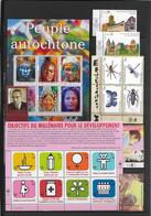 NATIONS UNIES / ONU - GENEVE - ANNEE COMPLETE 2009 ** MNH SAUF CARNET Et PERSONNALISES - Ungebraucht