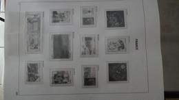 L27 Reliure DAVO De France VIDE De 2010 à 2013 (quasi Neuf Dont Blocs Et PA En Photo Que La 1ere Et Dernière Page) - Sammlungen (im Alben)