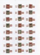 Sigarenbanden Alto Serie Corona 24 St - Bauchbinden (Zigarrenringe)