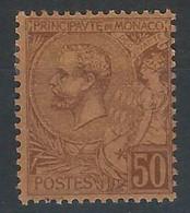 VV-/-694-  N° 17,  *  , Cote 9.00 €, IMAGE DU VERSO SUR DEMANDE - Monaco