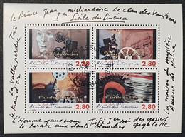 Bloc/Feuillet N° 17  Avec Oblitération Cachet à Date D'Epoque 1995  TTB - Sheetlets