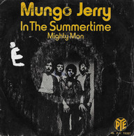 """Mungo Jerry 45t. SP """"in The Summertime"""" - Disco, Pop"""