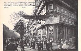 75 - PARIS 9 ème - Appareil De LEBLANC Exposé Aux Ex Locaux Du Journal LE MATIN Bld Poissonnière - CPA Edition J Hauser - Distrito: 09