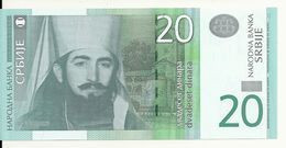 SERBIE 20 DINARA 2006 UNC P 47 - Serbia