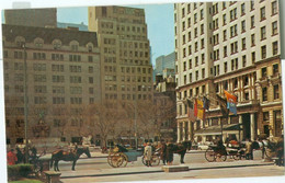 New York; Central Park With The Hansom Cab - Not Circulated. - Central Park