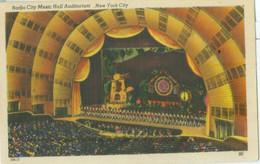 New York 1947; Radio City Music Hall Auditorium - Circulated. - New York City