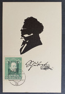 "Österreich 1947, Postkarte ANK 819 ""Franz Schubert"" - 1945-60 Covers"