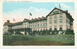 Plattsburgh; Hotel Champlain - Written. - NY - New York