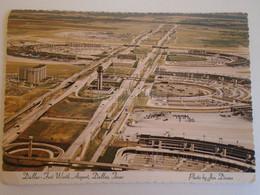 D173718 Dallas-Fort-Worth   Airport - Dallas Texas - Aérodromes